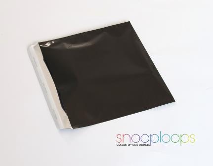 schwarz opak 220 Snooploop Folienumschlag