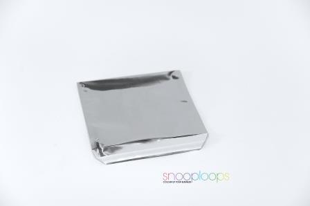 silber opak 220 Snooploop Folienumschlag