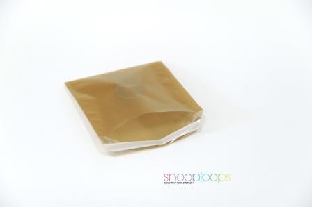 gold transluzent 220 Snooploop Folienumschlag