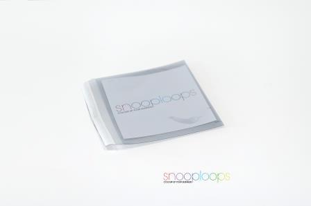 silber transluzent CD160 Snooploop Folienumschlag
