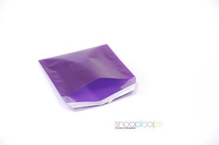 violett transluzent 220 Snooploop Folienumschlag
