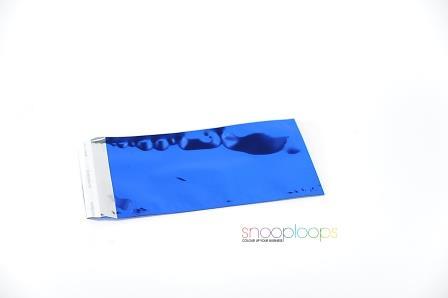 blau opak Din lang Snooploop Folienumschlag