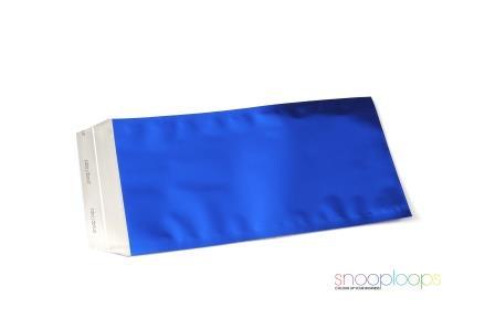 blau matt Din lang Snooploop Folienumschlag