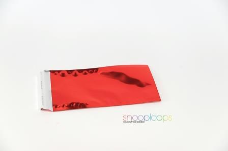 rot opak Din lang Snooploop Folienumschlag