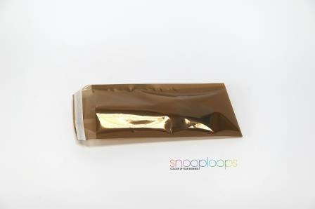 Gold Transluzent Din Lang Snooploop Folienumschlag Allmontara