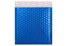 blau opak CD Metallic Bubblebag Luftpolsterumschläge