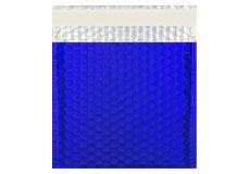 blau matt CD Metallic Bubblebag Luftpolsterumschläge